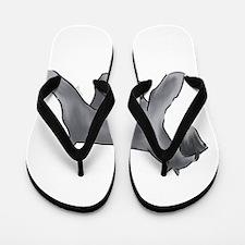schnauzer Flip Flops