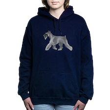 schnauzer Women's Hooded Sweatshirt