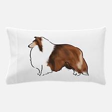 sable sheltie Pillow Case