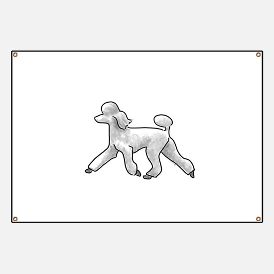 poodle white Banner