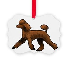red poodle Ornament
