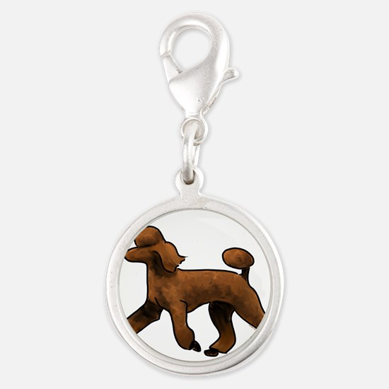 red poodle Charms