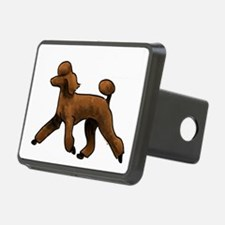 red poodle Hitch Cover