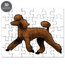 red poodle Puzzle