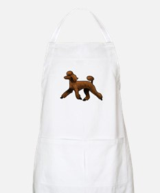 red poodle Apron
