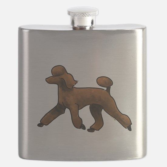 red poodle Flask