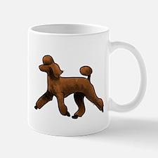 red poodle Mugs