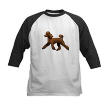 red poodle Baseball Jersey