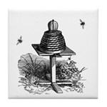 The Bee Hive Tile Coaster