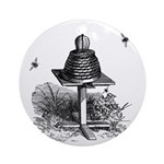 The Bee Hive Ornament (Round)