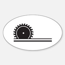 SAW BLADE Decal