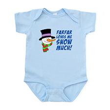 Farfar Loves Me Snow Much Body Suit