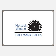 TOO MANY TOOLS Banner