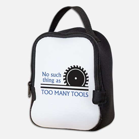TOO MANY TOOLS Neoprene Lunch Bag