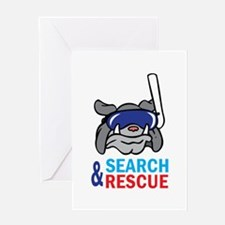 SEARCH AND RESCUE Greeting Cards