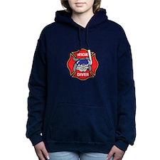 RESCUE DIVER Women's Hooded Sweatshirt