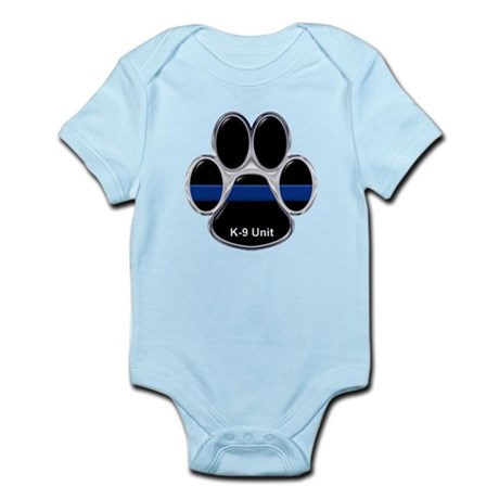 K-9 Unit Thin Blue Line Body Suit