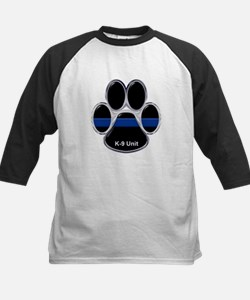 K-9 Unit Thin Blue Line Baseball Jersey