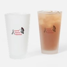 JUVENILE DIABETES Drinking Glass