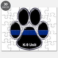 K-9 Unit Thin Blue Line Puzzle