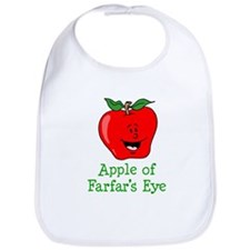 Apple of Farfar's Eye Bib