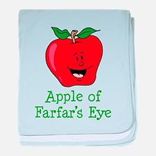 Apple of Farfar's Eye baby blanket