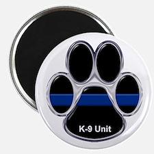 K-9 Unit Thin Blue Line Magnets