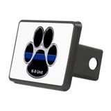 K 9 unit thin blue line Rectangle