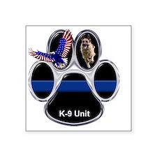 "K9 Square Sticker 3"" x 3"""