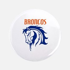 "BRONCOS MASCOT 3.5"" Button"