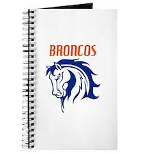 BRONCOS MASCOT Journal