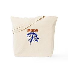 BRONCOS MASCOT Tote Bag