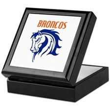 BRONCOS MASCOT Keepsake Box