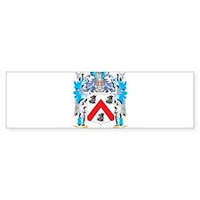 Mulligan Coat of Arms - Family Cres Bumper Bumper Sticker