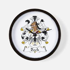 Beck Wall Clock