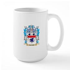 Munne Coat of Arms - Family Crest Mugs