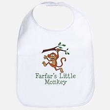 Farfar's Little Monkey Bib