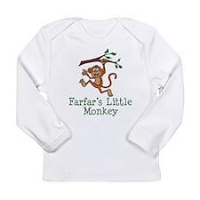 Farfar's Little Monkey Long Sleeve T-Shirt