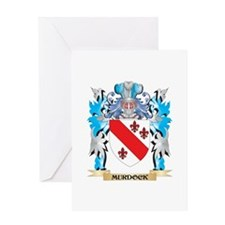 Murdock Coat of Arms - Family Crest Greeting Cards