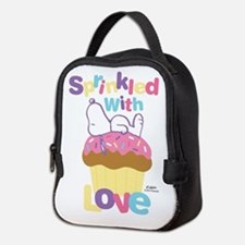 Snoopy - Sprinkled with Love Neoprene Lunch Bag