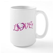 Snoopy Love Mugs