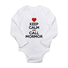 Keep Calm Call Mormor Body Suit