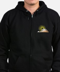 Bright Hump Day Zip Hoodie