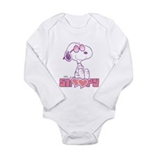 Snoopy Hearts Body Suit