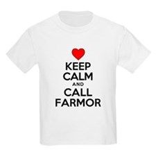 Keep Calm Call Farmor T-Shirt