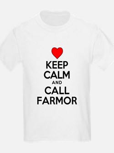 Keep Calm Call Farmor T-Shirt