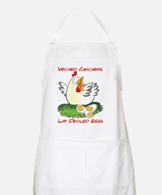 Wicked Chickens lay Deviled Eggs Apron