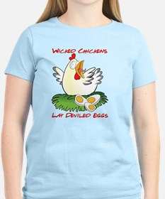 Wicked Chickens lay Deviled  T-Shirt