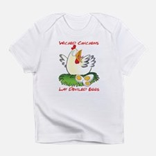 Wicked Chickens lay Deviled Eggs Infant T-Shirt