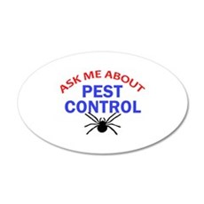 Ask Me About Pest Control Wall Decal